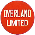 Tomar 9193 O Lighted Drumhead Kit Chicago & North Western Overland Limited Heavyweight Round 81-9193