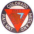 Tomar 9210 O Lighted Drumhead Kit Colorado Midland Pikes Peak Route Heavyweight Round 81-9210