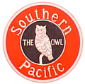 Tomar 9339 O Lighted Drumhead Kit Southern Pacific Owl Photo Heavyweight Round 81-9339