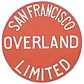 Tomar 5344 N Lighted Drumhead Kit Southern Pacific San Francisco Overland Limited Heavyweight Round