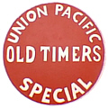 Tomar 9385 O Lighted Drumhead Kit Union Pacific Old Timer Lightweight Round 81-9385