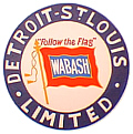 Tomar 5398 N Lighted Drumhead Kit Wabash Detroit St. Louis Limited Lightweight Round