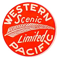 Tomar 9401 O Lighted Drumhead Kit Western Pacific Scenic Limited Heavyweight Round 81-9401