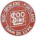 Tomar 5421 N Lighted Drumhead Kit Soo Line Soo-Spokane-Portland Train Deluxe Heavyweight Round