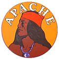 Tomar 9433 O Lighted Drumhead Kit Southern Pacific Apache Heavyweight Round 81-9433