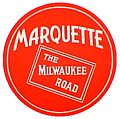 Tomar 5571 N Lighted Drumhead Kit Chicago Milwaukee St. Paul & Pacific Marquette w/Milwaukee Road Logo Heavyweight Round