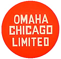 Tomar 9573 O Lighted Drumhead Kit Chicago Milwaukee St. Paul & Pacific Milwaukee Road Omaha Chicago Limited Lightweight Round
