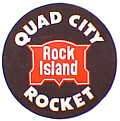Tomar 5733 N Lighted Drumhead Kit Chicago Rock Island & Pacific Quad City Rocket Lightweight Round