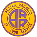 Tomar 9089 O Lighted Drumhead Kit Alaska Railroad Herald Lightweight Round 81-9089