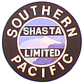 Tomar 934 HO Lighted Drumhead Kit Southern Pacific Shasta Limited Heavyweight Round