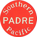 Tomar 5963 N Lighted Drumhead Kit Southern Pacific Padre Heavyweight Round