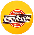 Tomar 5197 N Lighted Drumhead Kit Chicago & North Western Herald Heavyweight Round