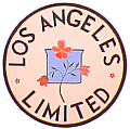 Tomar 9377 O Lighted Drumhead Kit Union Pacific Los Angeles Limited Flower Heavyweight Round