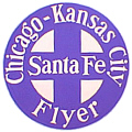 Tomar 9605 O Lighted Drumhead Kit Atchison Topeka & Santa Fe Chicago-Kansas City Flyer Heavyweight Round