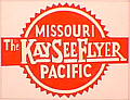 Tomar 9664 O Lighted Drumhead Kit Missouri Pacific Kay See Flyer Lightweight Rectangle