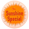 Tomar 5665 N Lighted Drumhead Kit Missouri Pacific Sunshine Special Heavyweight Round