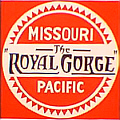 Tomar 9667 O Lighted Drumhead Kit Missouri Pacific Royal Gorge Heavyweight Square