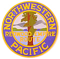 Tomar 9781 O Lighted Drumhead Kit Northwestern Pacific Redwood Empire Route Heavyweight Round