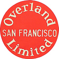 Tomar 7964 G Lighted Drumhead Kit Southern Pacific San Francisco Overland Limited Heavyweight Round